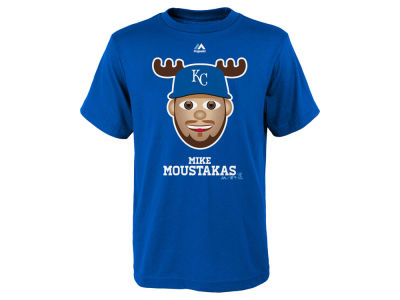 Kansas City Royals Mike Moustakas MLB Youth Emoji T-Shirt
