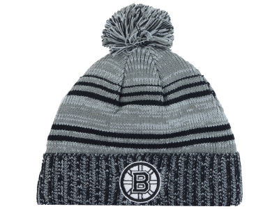 Boston Bruins Old Time Hockey NHL Merlin Pom Knit