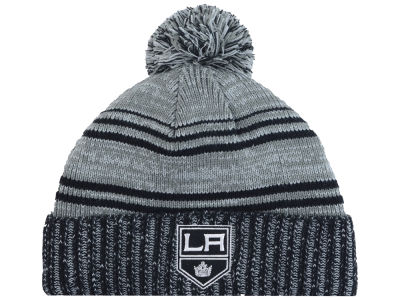 Los Angeles Kings Old Time Hockey NHL Merlin Pom Knit