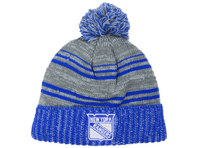New York Rangers Old Time Hockey NHL Merlin Pom Knit