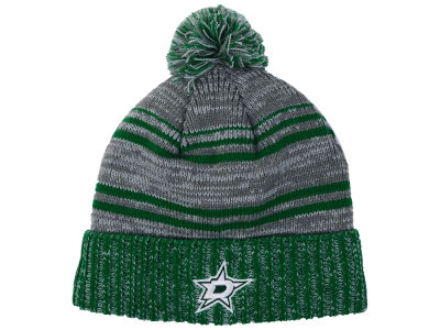 Dallas Stars Old Time Hockey NHL Merlin Pom Knit