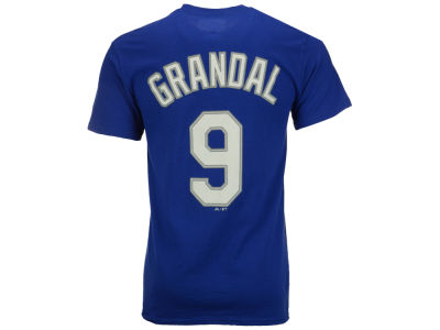 Los Angeles Dodgers Yasmani Grandal Majestic MLB Men's Official Player T-Shirt
