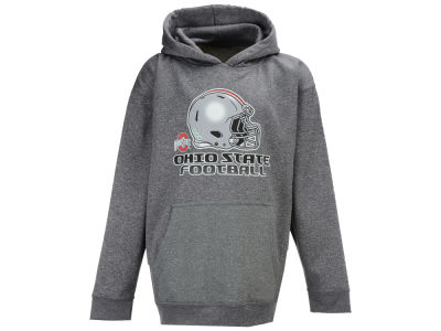 J America NCAA Youth Football Helmet Heathered Poly Fleece Hoodie