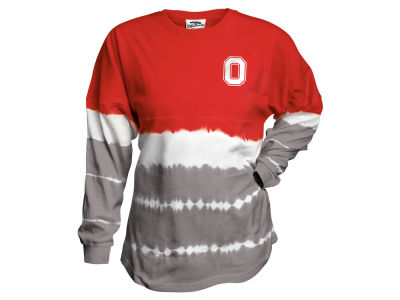 Ohio State Buckeyes NCAA Youth Girls Tie Dye Gameday Jersey