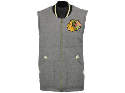 Chicago Blackhawks Mitchell and Ness NHL Men's Margin of Victory Vest
