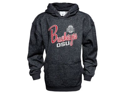 Ohio State Buckeyes NCAA Youth Girls Glitter French Terry Hoodie