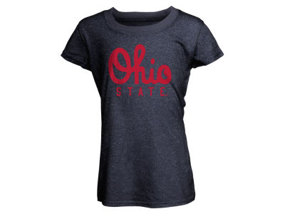 Ohio State Buckeyes NCAA Youth Girls Script Glitter T-Shirt