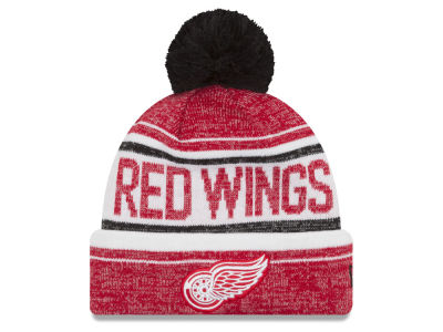 Detroit Red Wings New Era NHL Snow Dayz Knit