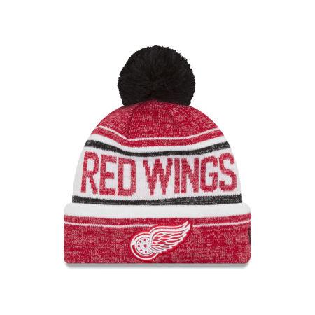 Detroit Red Wings New Era NHL Snow Dayz Knit