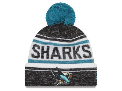 San Jose Sharks New Era NHL Snow Dayz Knit
