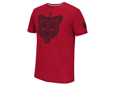 North Carolina State Wolfpack adidas NCAA Men's Woven Wolf T-Shirt