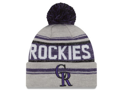 Colorado Rockies New Era MLB Snow Dayz Knit