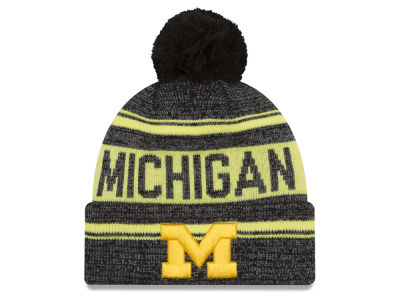 Michigan Wolverines New Era NCAA Snow Dayz Knit