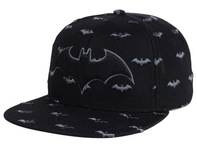 DC Comics Batman Repeat Logo Snapback Cap