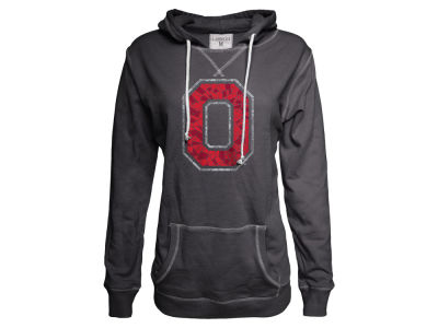 Ohio State Buckeyes NCAA Women's Stained Glass French Terry Hoodie