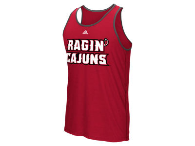 Louisiana Ragin' Cajuns adidas NCAA Men's Team Font Ultimate Ringer Tank