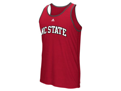 North Carolina State Wolfpack adidas NCAA Men's Team Font Ultimate Ringer Tank