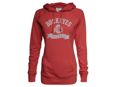 Ohio State Buckeyes NCAA Women's Football Triblend Fleece Hoodie