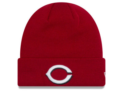 Cincinnati Reds New Era MLB Basic Cuffed Knit