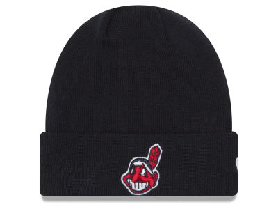 Cleveland Indians New Era MLB Basic Cuffed Knit