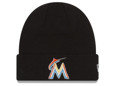 Miami Marlins New Era MLB Basic Cuffed Knit