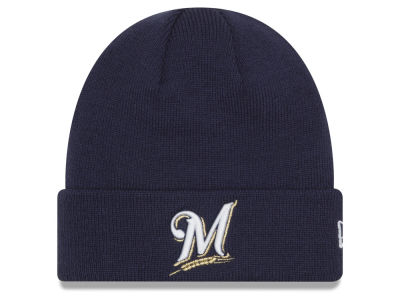 Milwaukee Brewers New Era MLB Basic Cuffed Knit