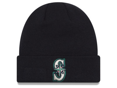 Seattle Mariners New Era MLB Basic Cuffed Knit