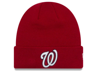 Washington Nationals New Era MLB Basic Cuffed Knit