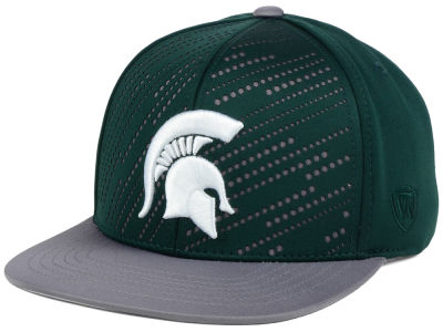 Michigan State Spartans NCAA Sun Breaker Snapback Cap
