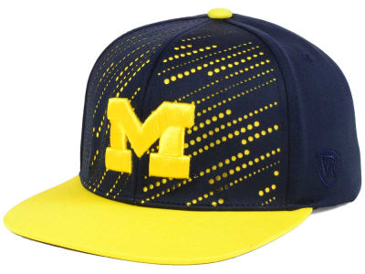 Michigan Wolverines NCAA Sun Breaker Snapback Cap