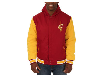 Cleveland Cavaliers NHL Men's Reversible Hooded Poly-Twill Jacket