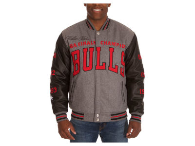 Chicago Bulls NBA Men's Commemorative Melton Jacket