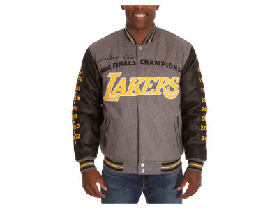 Los Angeles Lakers NBA Men's Commemorative Melton Jacket