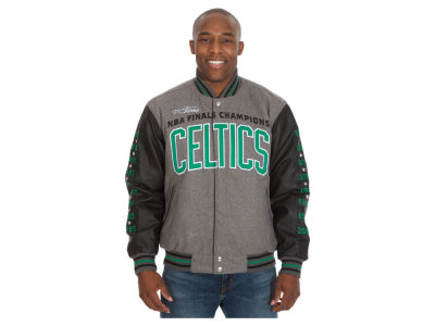 Boston Celtics NBA Men's Commemorative Melton Jacket