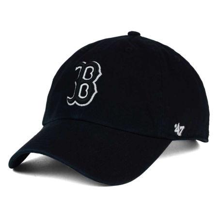 Boston Red Sox '47 MLB Black White Black '47 CLEAN UP Cap