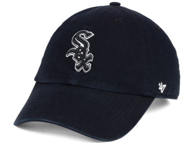 Chicago White Sox '47 MLB Black White '47 Clean Up Cap