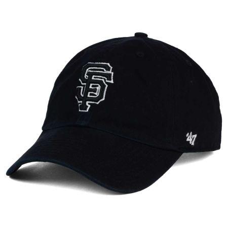 San Francisco Giants '47 MLB Black White Black '47 CLEAN UP Cap
