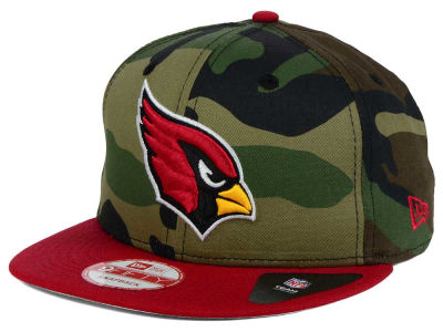 Arizona Cardinals New Era NFL Camo Two Tone 9FIFTY Snapback Cap