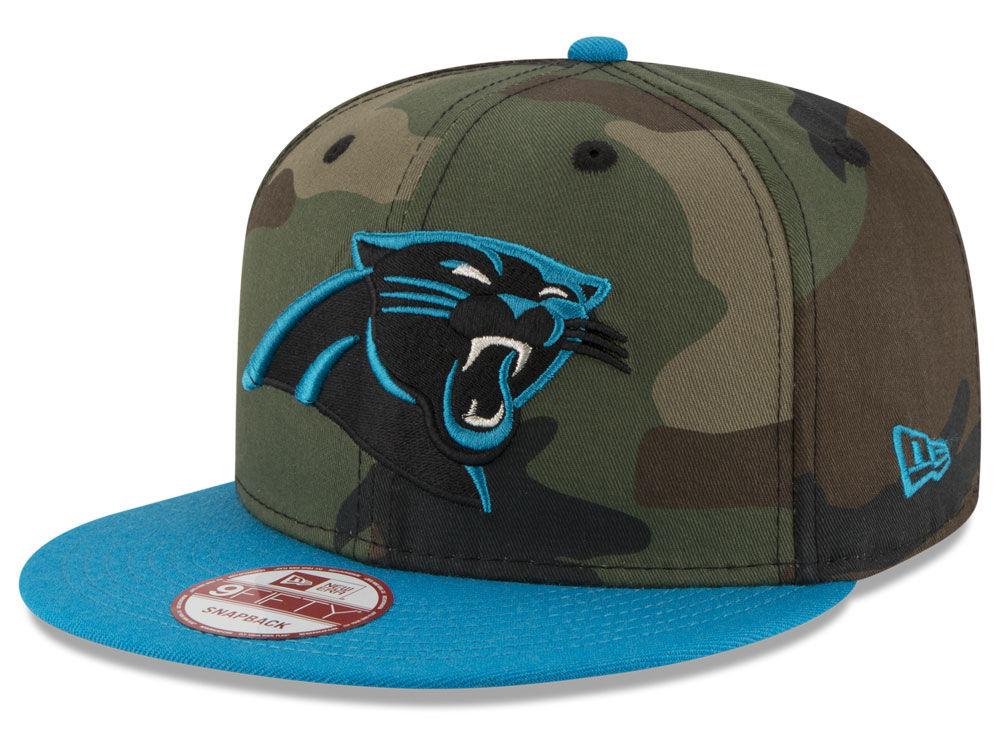 Carolina Panthers New Era NFL Camo Two Tone 9FIFTY Snapback Cap ... 3baa2782c
