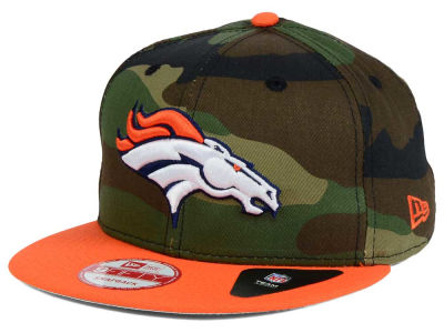 Denver Broncos New Era NFL Camo Two Tone 9FIFTY Snapback Cap