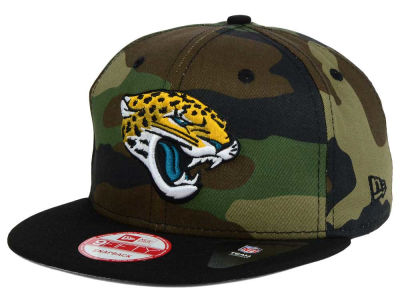 Jacksonville Jaguars New Era NFL Camo Two Tone 9FIFTY Snapback Cap