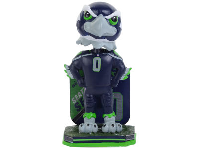 Seattle Seahawks Forever Collectibles Name & Number Bobblehead