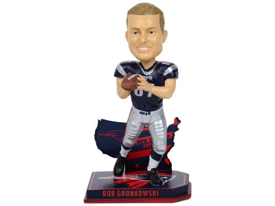 New England Patriots Rob Gronkowski Forever Collectibles Nation Bobblehead
