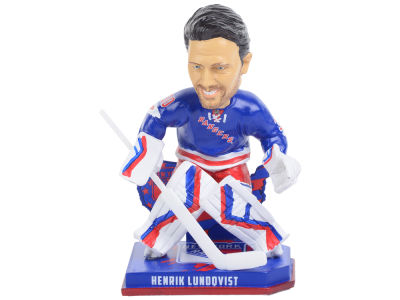 New York Rangers Henrik Lundqvist Forever Collectibles Nation Bobblehead