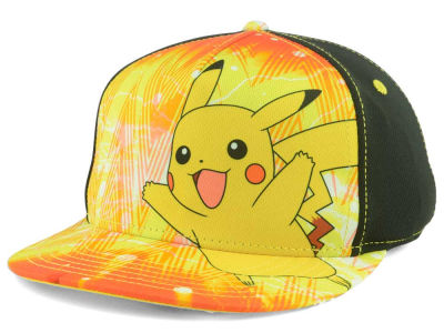 Pokemon Youth Happy Pika Snapback Cap