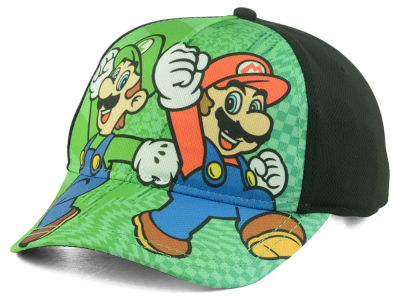 Nintendo Youth Marios Bros Punch Snapback Hat