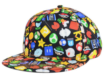 Youth Super Mario Logo Snapback Cap