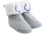 Forever Collectibles Women's Knit Boot Slipper Apparel & Accessories