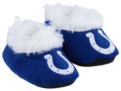 Indianapolis Colts Baby Bootie Slippers