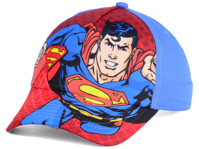 DC Comics Youth Rubber Weld Snapback Cap